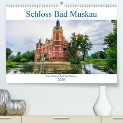 Schloss Bad Muskau (Premium, hochwertiger DIN A2 Wandkalender 2020, Kunstdruck in Hochglanz) von photography,  IAM
