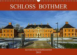 Schloss Bothmer – Klützer Schlossimpressionen (Wandkalender 2019 DIN A3 quer)