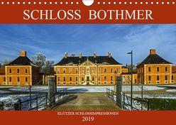 Schloss Bothmer – Klützer Schlossimpressionen (Wandkalender 2019 DIN A4 quer)