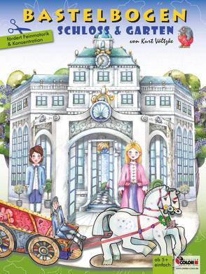Schloss & Garten Bastelbogen von Völtzke,  Kurt