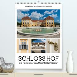 Schloss Hof – Die Perle unter den Marchfeldschlössern (Premium, hochwertiger DIN A2 Wandkalender 2020, Kunstdruck in Hochglanz) von Bartek,  Alexander