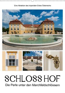 Schloss Hof – Die Perle unter den Marchfeldschlössern (Wandkalender 2020 DIN A2 hoch) von Bartek,  Alexander