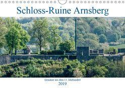 Schloss-Ruine Arnsberg (Wandkalender 2019 DIN A4 quer) von Möller,  Christof