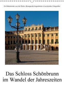 Schloss Schönbrunn im Wandel der JahreszeitenAT-Version (Wandkalender 2018 DIN A3 hoch) von Bartek,  Alexander
