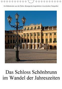 Schloss Schönbrunn im Wandel der JahreszeitenAT-Version (Wandkalender 2018 DIN A4 hoch) von Bartek,  Alexander