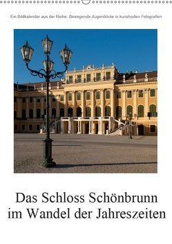 Schloss Schönbrunn im Wandel der JahreszeitenAT-Version (Wandkalender 2019 DIN A2 hoch) von Bartek,  Alexander