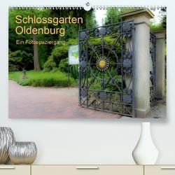 Schlossgarten Oldenburg. Ein Fotospaziergang (Premium, hochwertiger DIN A2 Wandkalender 2021, Kunstdruck in Hochglanz) von Renken,  Erwin