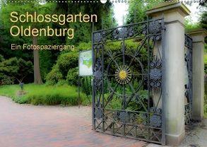 Schlossgarten Oldenburg. Ein Fotospaziergang (Wandkalender 2018 DIN A2 quer) von Renken,  Erwin