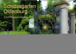 Schlossgarten Oldenburg. Ein Fotospaziergang (Wandkalender 2019 DIN A2 quer) von Renken,  Erwin