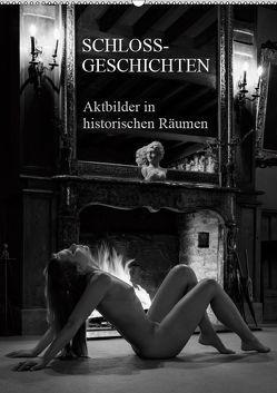 Schlossgeschichten – Aktbilder in historischen Räumen (Wandkalender 2019 DIN A2 hoch) von Zurmühle,  Martin