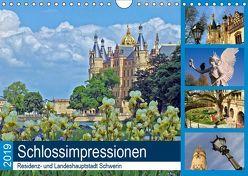 Schlossimpressionen Schwerin 2019 (Wandkalender 2019 DIN A4 quer) von Felix,  Holger