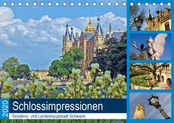 Schlossimpressionen Schwerin 2020 (Tischkalender 2020 DIN A5 quer) von Felix,  Holger