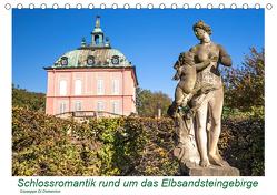 Schlossromantik rund um das Elbsandsteingebirge (Tischkalender 2019 DIN A5 quer) von Di Domenico,  Giuseppe