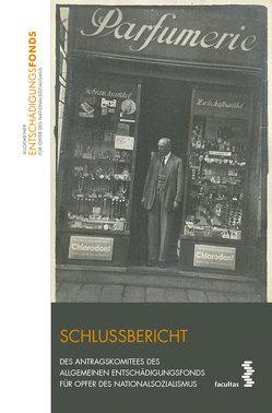 Schlussbericht Antragskomitee von Aicher,  Josef, Kussbach,  Erich, Reinisch,  August