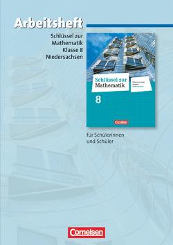 Schlüssel zur Mathematik – Differenzierende Ausgabe Niedersachsen / 8. Schuljahr – Arbeitsheft mit eingelegten Lösungen von Koullen,  Reinhold, Meyer,  Christa