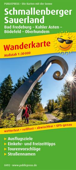 Schmallenberger Sauerland, Bad Fredeburg, – Kahler Asten – Bödefeld – Oberhundem