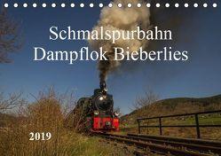 Schmalspurbahn Dampflok Bieberlies (Tischkalender 2019 DIN A5 quer) von Rein,  Simone