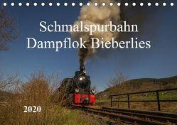 Schmalspurbahn Dampflok Bieberlies (Tischkalender 2020 DIN A5 quer) von Rein,  Simone