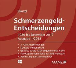 Schmerzengeld-Entscheidungen von Danzl,  Karl-Heinz