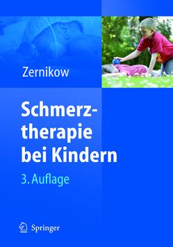Schmerztherapie bei Kindern von Zernikow,  Boris