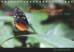 Schmetterlinge – bunte Exoten der Tropen (Tischkalender 2019 DIN A5 quer) von Thiem-Eberitsch,  Jana