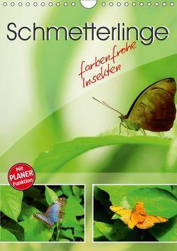 Schmetterlinge – farbenfrohe Insekten (Wandkalender 2019 DIN A4 hoch) von Mosert,  Stefan