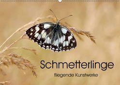Schmetterlinge – fliegende Kunstwerke (Wandkalender 2019 DIN A2 quer) von Kumpf,  Eileen