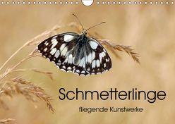 Schmetterlinge – fliegende Kunstwerke (Wandkalender 2019 DIN A4 quer) von Kumpf,  Eileen