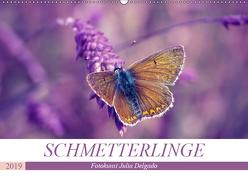 Schmetterlinge im Fokus (Wandkalender 2019 DIN A2 quer) von Delgado,  Julia