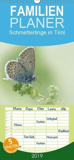 Schmetterlinge in Tirol 2018 – Familienplaner hoch (Wandkalender 2019 , 21 cm x 45 cm, hoch) von Leon
