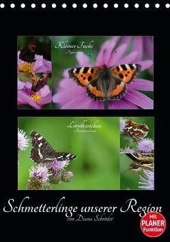 Schmetterlinge unserer Region (Tischkalender 2019 DIN A5 hoch) von Schröder,  Diana