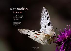 Schmetterlingskalender von Lux,  Hartmut
