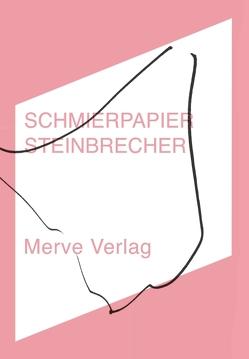 SCHMIERPAPIER von Steinbrecher,  Erik