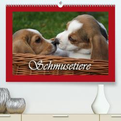 Schmusetiere (Premium, hochwertiger DIN A2 Wandkalender 2020, Kunstdruck in Hochglanz) von Lindert-Rottke,  Antje