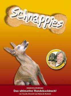Schnappies – das ultimative Hundebackbuch von Drews,  Jürgen, Rudnick,  Michaela
