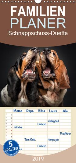 Schnappschuss-Duette – Hunde – Familienplaner hoch (Wandkalender 2019 , 21 cm x 45 cm, hoch) von Photography / Christian Vieler,  Vieler