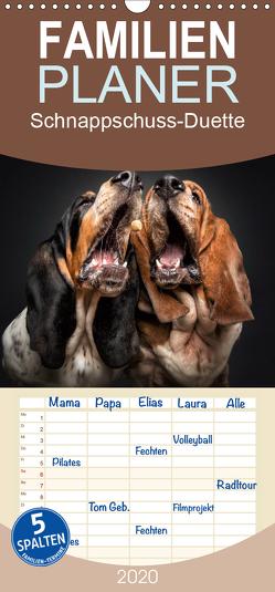 Schnappschuss-Duette – Hunde – Familienplaner hoch (Wandkalender 2020 , 21 cm x 45 cm, hoch) von Photography / Christian Vieler,  Vieler