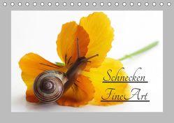 Schnecken FineArt (Tischkalender 2019 DIN A5 quer)