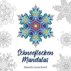Schneeflocken Mandalas von Gonschorek,  Daniela