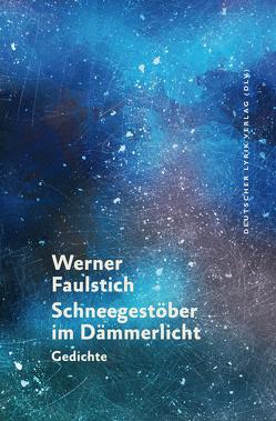 Schneegestöber im Dämmerlicht von Faulstich,  Werner