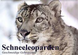 Schneeleoparden. Geschmeidige Gebirgsjäger (Wandkalender 2019 DIN A2 quer)