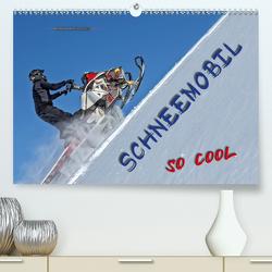 Schneemobil – so cool (Premium, hochwertiger DIN A2 Wandkalender 2021, Kunstdruck in Hochglanz) von Roder,  Peter