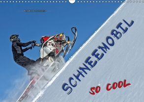 Schneemobil – so cool (Wandkalender 2018 DIN A3 quer) von Roder,  Peter