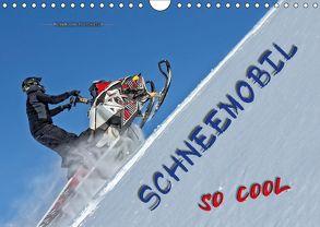 Schneemobil – so cool (Wandkalender 2018 DIN A4 quer) von Roder,  Peter