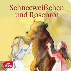 Schneeweißchen und Rosenrot. Mini-Bilderbuch. von Grimm Brüder, Lefin,  Petra