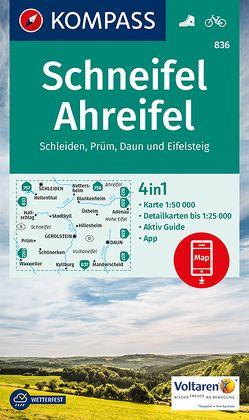 Schneifel, Ahreifel, Schleiden, Prüm, Daun, Eifelsteig von KOMPASS-Karten GmbH