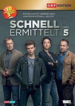 Schnell ermittelt 5. Staffel von Bachofner,  Wolf, Strauss,  Ursula