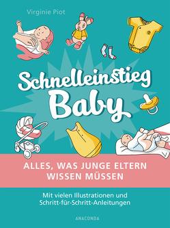 Schnelleinstieg Baby – Alles, was junge Eltern wissen müssen von Piot,  Virginie, Wiedemeyer,  Carolin