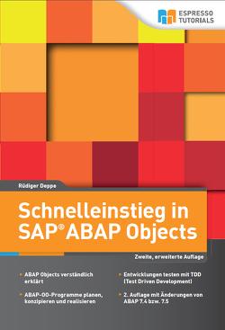 Schnelleinstieg in SAP ABAP Objects von Deppe,  Rüdiger