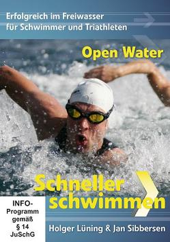 Schneller Schwimmen: Open Water von Konrad,  Willem, Lüning,  Holger, Sibbersen,  Jan